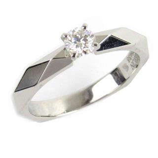 BOUCHERON〈ブシュロン〉Facette solitaire diamond ring