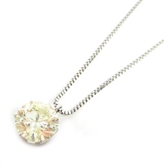 JEWELRY 〈ジュエリー〉 Solitaire diamond necklace