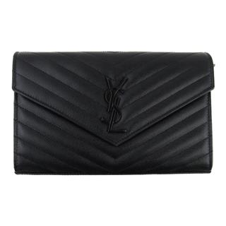 SAINT LAURENT 〈サン・ローラン〉 Chain wallet shoulder clutch bag