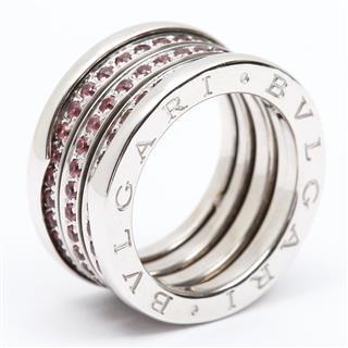 BVLGARI〈ブルガリ〉B-zero1 Ring Garnet #51