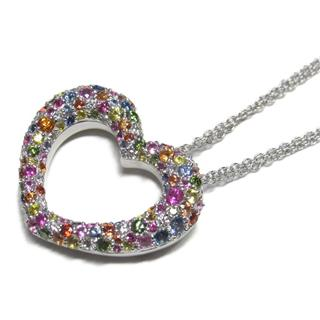 Ponte Vecchio 〈ポンテヴェキオ〉 Eterno necklace heart pendant