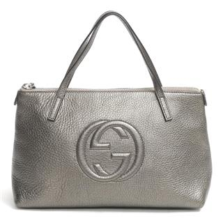 GUCCI〈グッチ〉Double G Hand tote bag