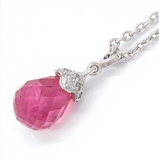 CHAUMET 〈ショーメ〉 Frisson Pink Tourmaline Necklace pendant