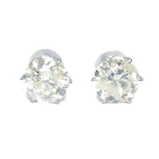 JEWELRY〈ジュエリー〉One diamond earrings