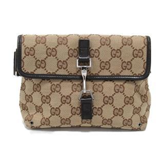 GUCCI〈グッチ〉GG canvas waist bag shoulder bag