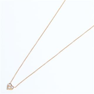 TIFFANY&CO 〈ティファニー〉 Sentimental Heart Diamond Necklace