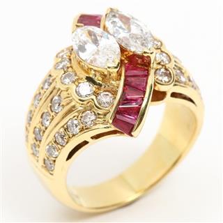 JEWELRY〈ジュエリー〉Diamond Ruby Ring