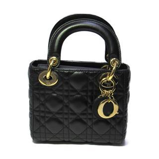 Dior〈クリスチャン・ディオール〉Lady Dior 2way hand shoulder tote bag