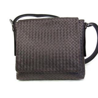 BOTTEGA VENETA 〈ボッテガ・ヴェネタ〉 Intrecciato Crossbody shoulder bag