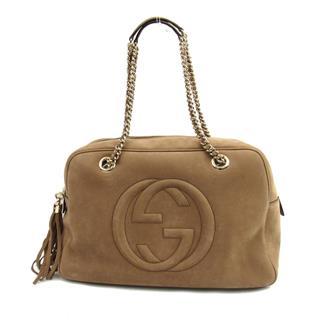 GUCCI〈グッチ〉Fringe chain shoulder tote bag