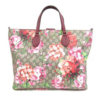 GUCCI 〈グッチ〉 GG Blooms 2way shoulder hand bag