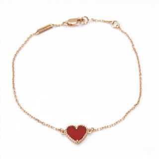Van Cleef & Arpels〈ヴァンクリーフ&アーペル〉Sweet Alhambra Heart Bracelet