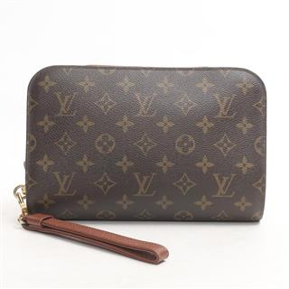LOUIS VUITTON〈ルイヴィトン〉Orsay Second Pouch Clutch Bag
