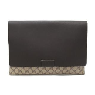 GUCCI 〈グッチ〉 GG Supreme Clutch Bag