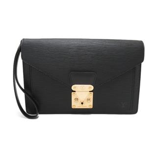 LOUIS VUITTON 〈ルイヴィトン〉 Pochette Sellier Dragonne Clutch Second Bag
