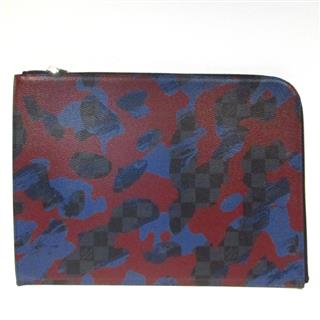 LOUIS VUITTON〈ルイヴィトン〉Pochette Joule GM clutch bag Camouflage