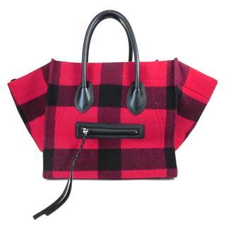 CELINE〈セリーヌ〉Luggage phantom hand tote bag Checked