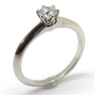 TIFFANY&CO〈ティファニー〉Solitaire Ring 1P Diamond Ring