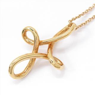 TIFFANY&CO〈ティファニー〉Infinity cross charm necklace