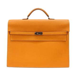 HERMES〈エルメス〉Kelly Depeche 38 2 gusset  Business Briefcase Document Bag