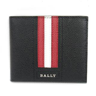 BALLY 〈バリー〉 Embossed leather Bi fold Wallet