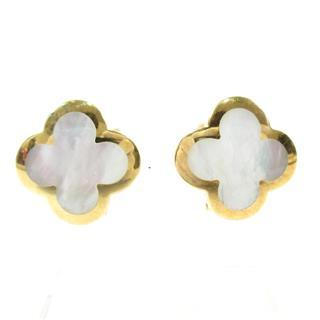 Van Cleef & Arpels〈ヴァンクリーフ&アーペル〉Alhambra earrings