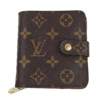 LOUIS VUITTON〈ルイヴィトン〉Compact zip bi-fold wallet
