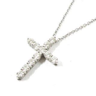 TIFFANY&CO 〈ティファニー〉 Small cross necklace