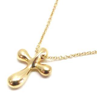 TIFFANY&CO〈ティファニー〉Small cross necklace pendant