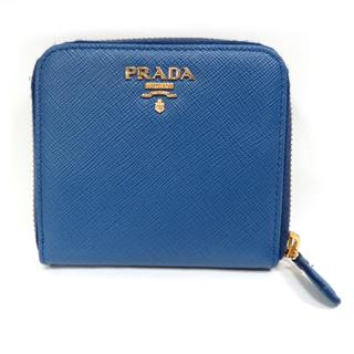 PRADA 〈プラダ〉 around compact zipper wallet Purse