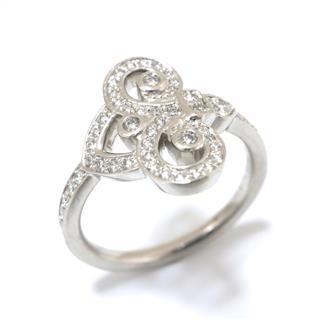 TIFFANY&CO〈ティファニー〉Fleur de Lis Ring