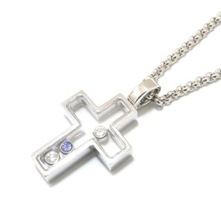 Chopard 〈ショパール〉 Happy diamond cross necklace