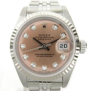 ROLEX 〈ロレックス〉 Datejust 10P Diamond Watch ladies