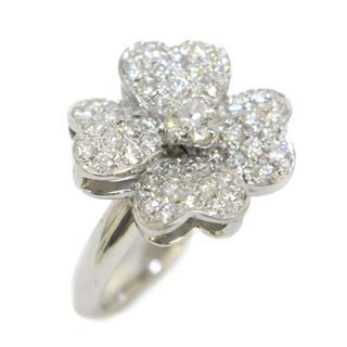 JEWELRY〈ジュエリー〉Diamond ring ring flower clover