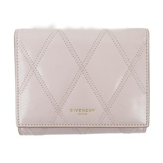 GIVENCHY 〈ジバンシー〉 Stitch tri-fold compact wallet Purse