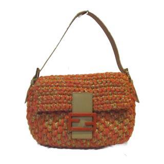 FENDI〈フェンディ〉Mamma bucket shoulder hand flap bag