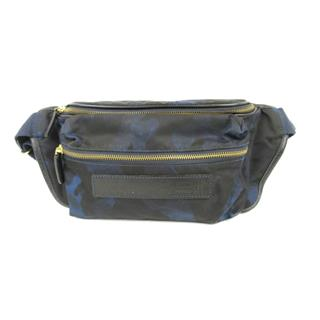 Felisi 〈フェリージ〉 Camouflage crossbody zip waist bag