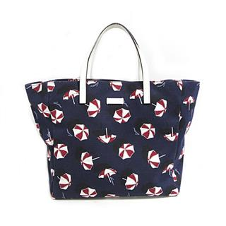 GUCCI 〈グッチ〉 TOTE BAG umbrella print tote hand bag