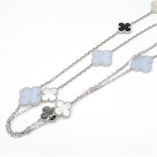 Van Cleef & Arpels 〈ヴァンクリーフ&アーペル〉 Magic Alhambra long necklace 16 motifs