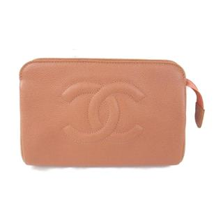 CHANEL 〈シャネル〉 Coco Mark Pouch Bag