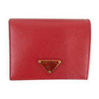PRADA〈プラダ〉SLG Saffiano bi-fold wallet