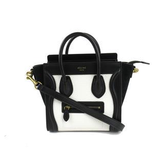 CELINE〈セリーヌ〉Luggage nano shopper 2way shoulder hand bag