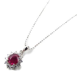 JEWELRY〈ジュエリー〉Ruby diamond necklace