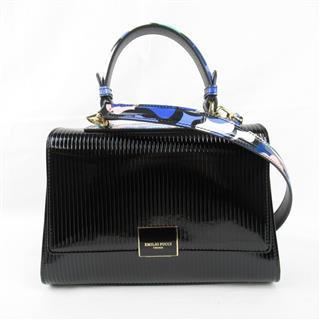 EMILIO PUCCI〈エミリオ・プッチ〉Handbag 2way shoulder crossbody hand bag