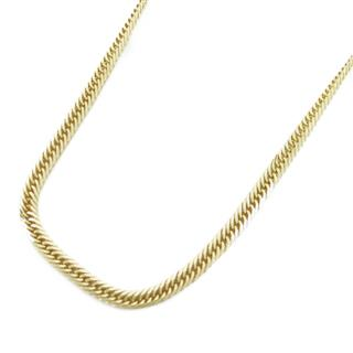 JEWELRY〈ジュエリー〉Double 6 side Flat link chain necklace