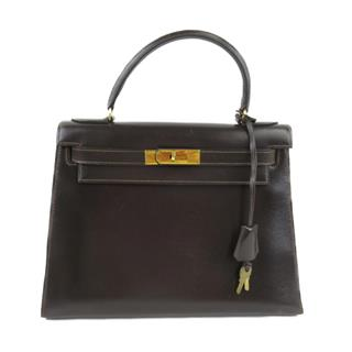 HERMES〈エルメス〉Kelly 28 outside Stitched Hand bag