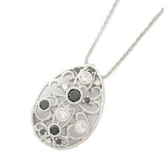 JEWELRY〈ジュエリー〉Black diamond diamond necklace