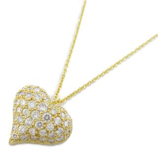 TIFFANY&CO〈ティファニー〉Pinched heart diamond necklace