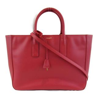 YVES SAINT LAURENT 〈イブ・サンローラン〉 2way shoulder tote bag