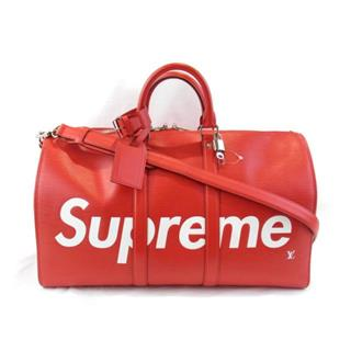 LOUIS VUITTON 〈ルイヴィトン〉 Supreme Keepall Bandouliere 45 Boston Bag